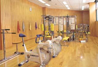 トレーニング室は、使用中止になります。