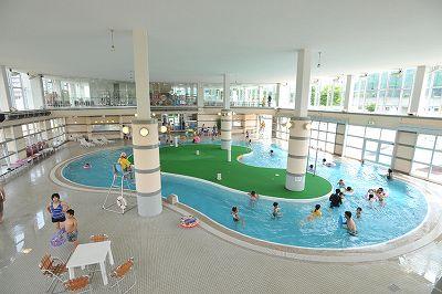 2018年7月1日より屋内プールオープンします。