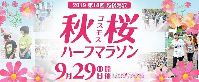 2019第18回越後湯沢秋桜ハーフマラソン
